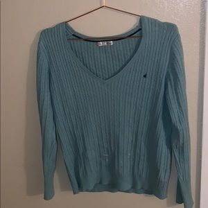 Old navy — light blue cable knit sweater